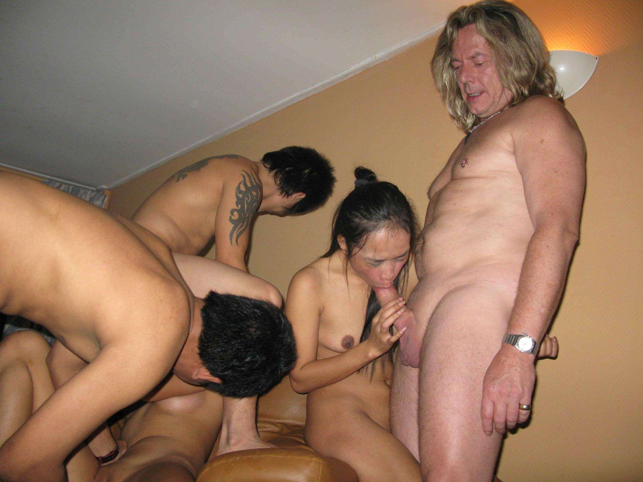 asian party sex